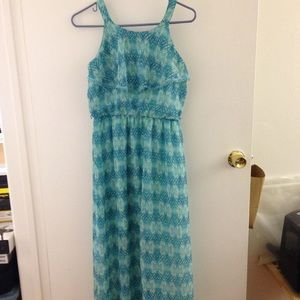 Bcx girl maxi dress, kids size 16